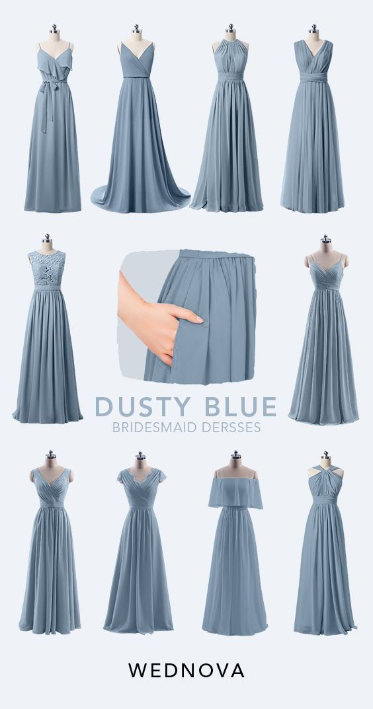Shop Cheap Bridesmaid Dresses Under 100 Online At Wednova Com Cheap Bridesmaid Dusty Blue Bridesmaid Dresses Bridesmaid Dresses Bridesmaid Dresses Under 100