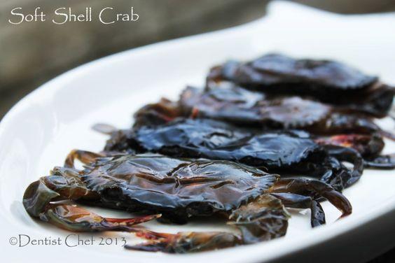Crispy Deep Fried Soft Shell Crab With Salted Egg Yolk Batter Recipe Resep Kepiting Resep Makanan Kepiting