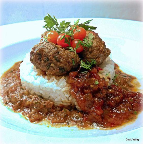 cookvalley - tanker om mad: Indiske Koftes i tomatsauce
