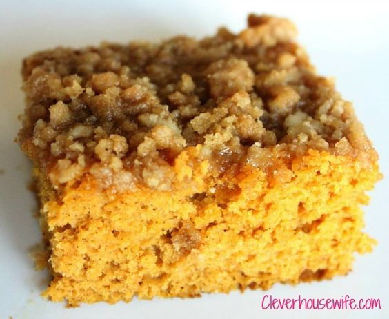 Pumpkin Coffee Cake with Brown Sugar Glaze - Seriously so yummy and a great way to add pumpkin to your breakfast year-round!