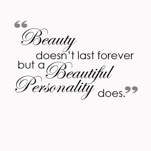 Good definition of beauty?