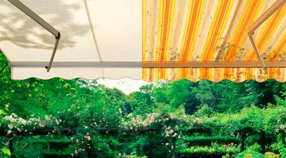 Rénover son store de terrasse : remplacer la toile et motoriser son store banne