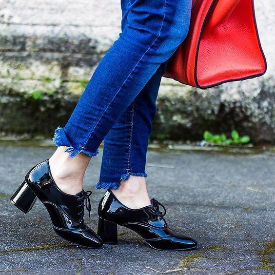 Oxford shoes todo meu amor por você!  by @mundialcalcados
