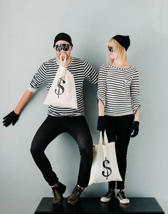 Going out with your boo this Halloween? If you are, then these DIY couples Halloween costumes are for you. Whatever you decide on, I'm sure it will be cute.
