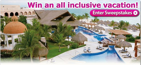WIN a free all-inclusive stay at Excellence Riviera Cancun resort! CLICK to enter to WIN!
