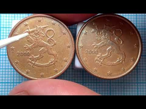 Finland 5 Euro Cent 2000 Defect S Coin M 56 660 000 Youtube In 2020 Witzig