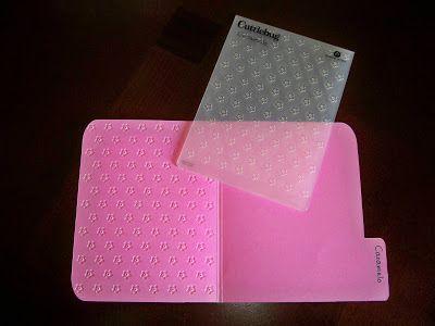 Embossing folder storage idea--- Lena's Creations: Storage Share - Embossing Folders