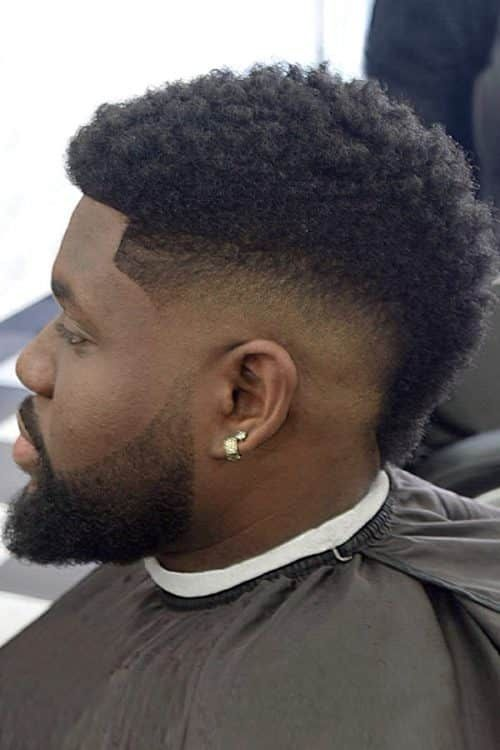 Mohawk With Fade for Black Men