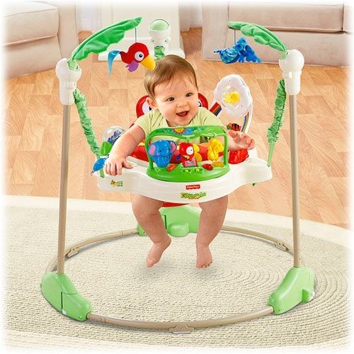Fisher Price Rainforest Jumperoo Review Fisher Price Rainforest Jumperoo Baby Activity Jumper Fisher Price Baby