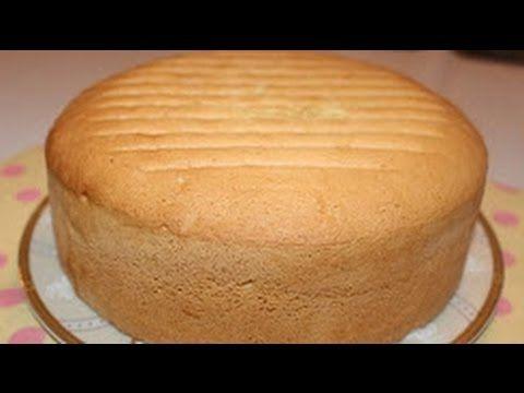 اسهل واسرع كيكة اسفنجية اقتصادية فى البيت خطوة بخطوة بدون فصل البياض عن Sponge Cake Recipes Sponge Cake Desserts