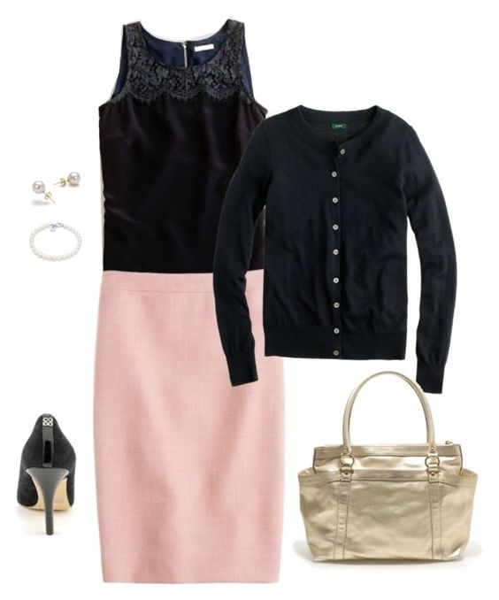 """OOTD 12.08.15"" by elie2882 ❤ liked on Polyvore featuring J.Crew and Tiffany & Co."