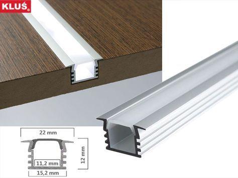 Tiefes Led Profil Einlassprofil Des Hrst Klus P 6 50 Led Beleuchtung Wohnzimmer Led Beleuchtung Beleuchtung