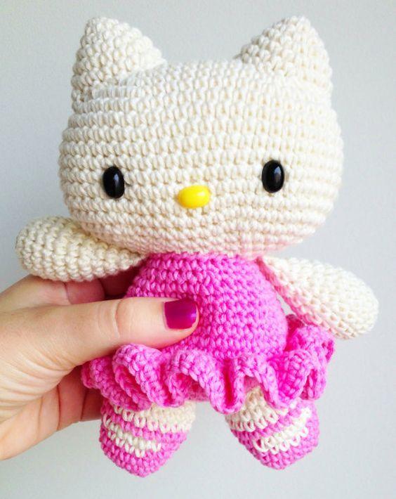 Amigurumi Hello Kitty Yapımı - Örgü Modelleri | 710x564
