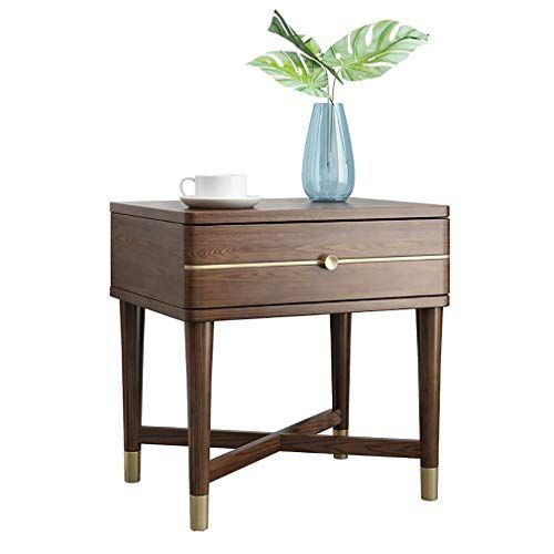 Bedside Tables Side Table Industrial Nightstand With 1 Drawer Retro Rustic Chic Wood Look Accent Furnitur Sofa Couch Bed Bedroom Couch Bedroom Night Stands