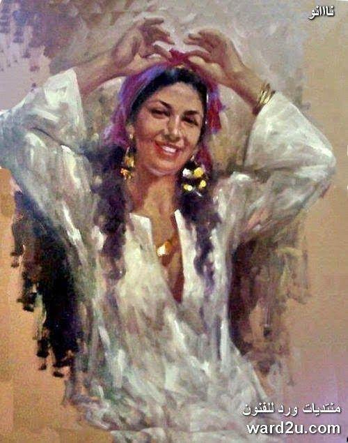 تابلوه كولاج موسيقى مع اضافات Egyptian Painting Egyptian Art Romantic Art
