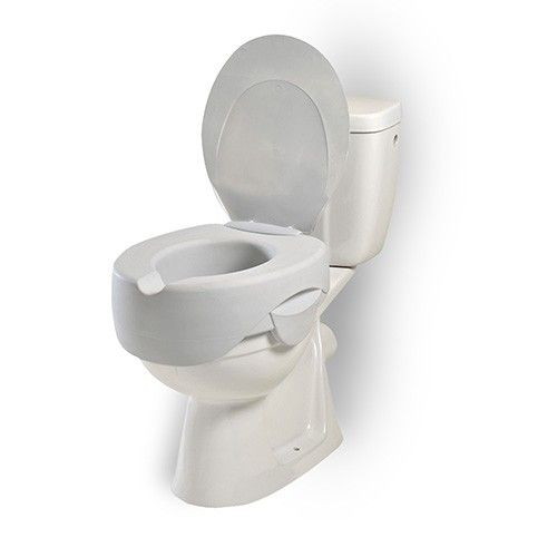 Rehosoft Raised Toilet Seat With Lid Made In 1 Piece So Is Fully