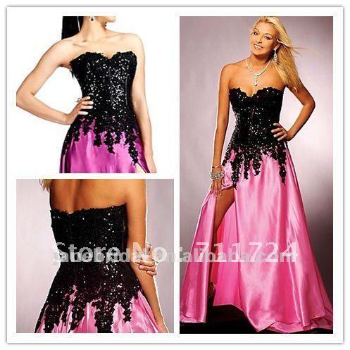 hot pink and black wedding dresses  Wedding Cincinnati ...