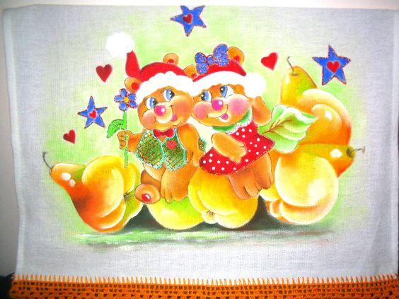 Pintura em tecido : Em clima de Natal