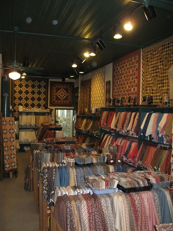 JJ Stitches in Sun Prairie. Took my first quilting classes here in 1983-1985. Traditional quilts and fabrics.