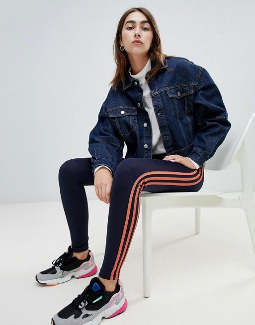 Adidas Originals Three Stripe Leggings