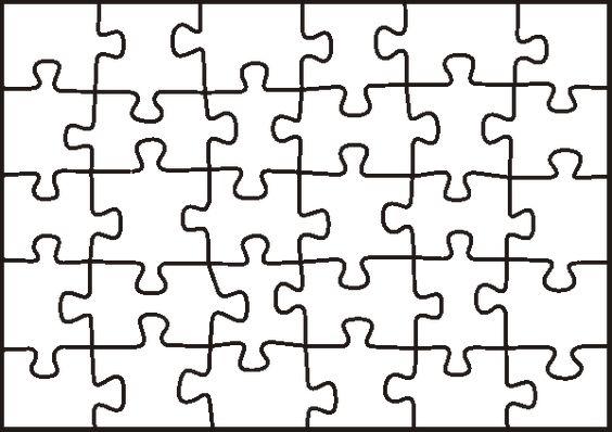 Puzzle Piece Template | Free & Premium Templates | משחקים
