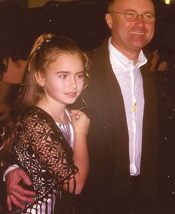 Phil and Lily collins | Phil Collins | Pinterest | Lilies ...