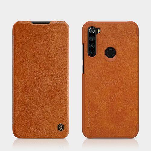 کیف چرمی شیائومی ردمی نوت 8 مارک نیلکین Classic Leather Leather Case