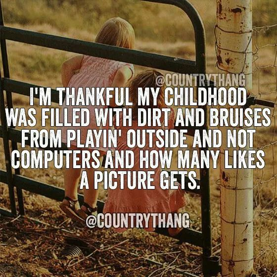 Very thankful. #farmraised it became my Lodestar that guided me back to living our country life and leaving big city life behind...not where we belonged anyway.