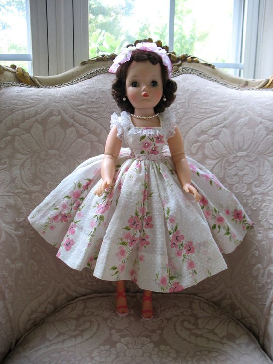 Madame Alexander 1957 Brunette Cissy doll beautifully dressed! in Dolls & Bears, Dolls, By Brand, Company, Character, Madame Alexander, Vintage (Pre-1973), 1948-59 | eBay