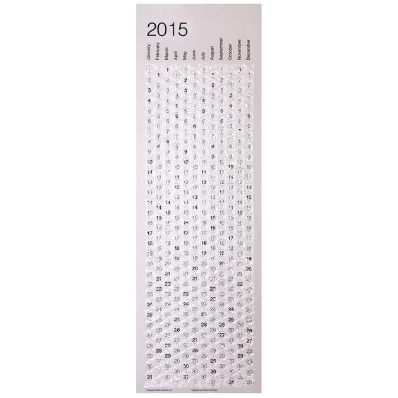 The Pop A Day Calendar - Hammacher Schlemmer