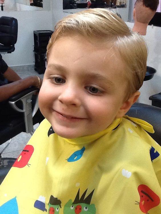Cutie Pa Tootiekes His Haircut 5th Avenue Barber Naples