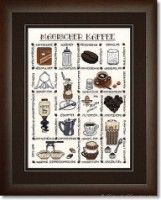 "(1) Gallery.ru / Ulrike - Альбом ""B-146-10 Mustertuch Magischer Kaffee"""