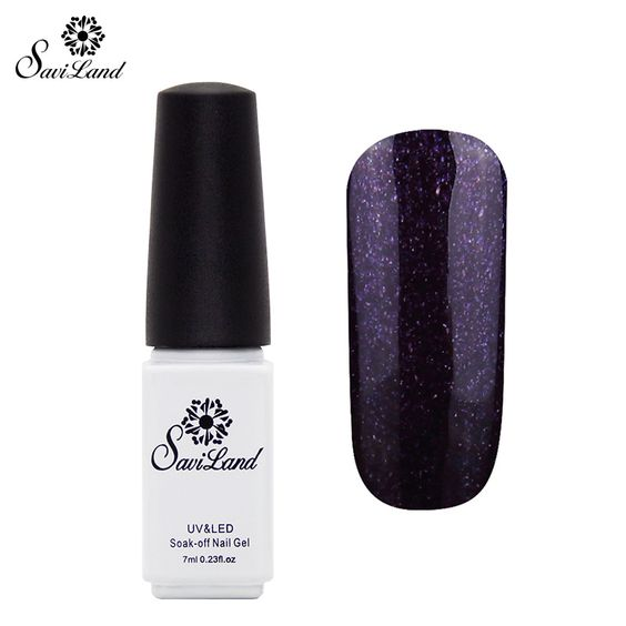 Saviland 1pcs Hot Nail Gel Polish 29 Shining Color Gels for Nails Long Lasting Cosmetic Manicure Nail Art UV Gel Color #clothing,#shoes,#jewelry,#women,#men,#hats,#watches,#belts,#fashion,#style