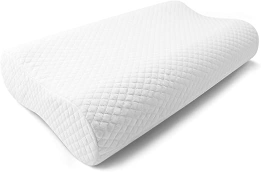 polar sleep memory foam contour pillow