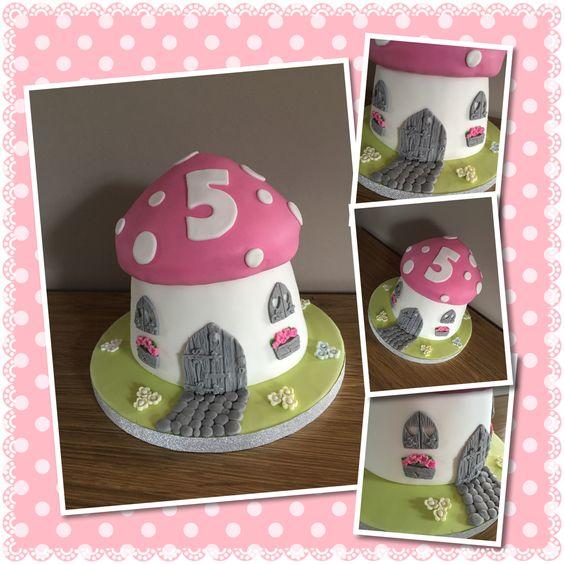 Fairy House Cake