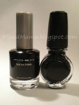 MixedMama: MASH's New Nail Art Polish Review....compared to Konad,  well done article -Ana