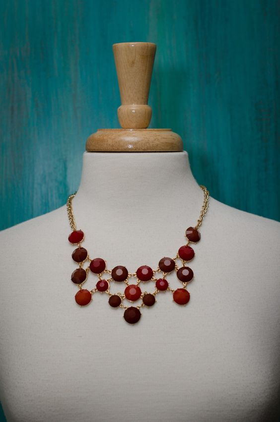Dots and Drops Necklace