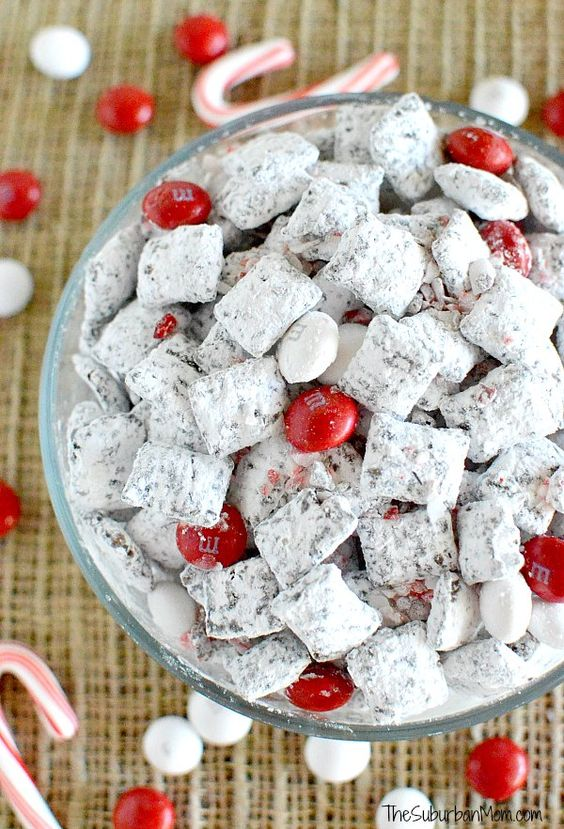 Mix) recipe using dark chocolate and white chocolate peppermint M&Ms ...