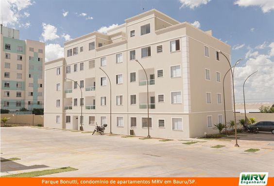 O Parque Bonutti é um condomínio da MRV Engenharia em Bauru/SP.   São apartamentos de 2 dormitórios com ou sem suíte e 3 dormitórios com suíte, sala para dois ambientes, vaga de garagem, além de opção por varanda ou cobertura duplex. Esse projeto foi pensado para proporcionar aos moradores todo conforto em ambientes funcionais.Atendimento online 24h. Consulte valores e formas de financiamento. Por aqui, você poderá até agendar uma visita ao local. Acesse: http://imoveis.mrv.com.br/?fbx=1.
