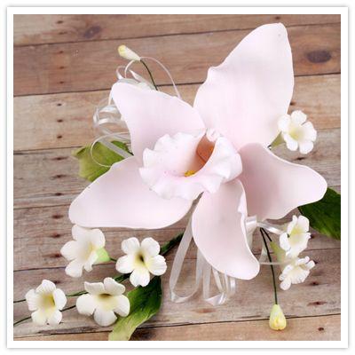 Ручной Gumpaste Cymbidium Цветы