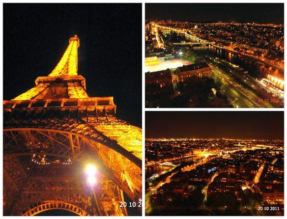 Torre Eiffel by night