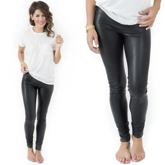 The ULTIMATE leather leggings… check out my latest capsule collection for Privilege!!!