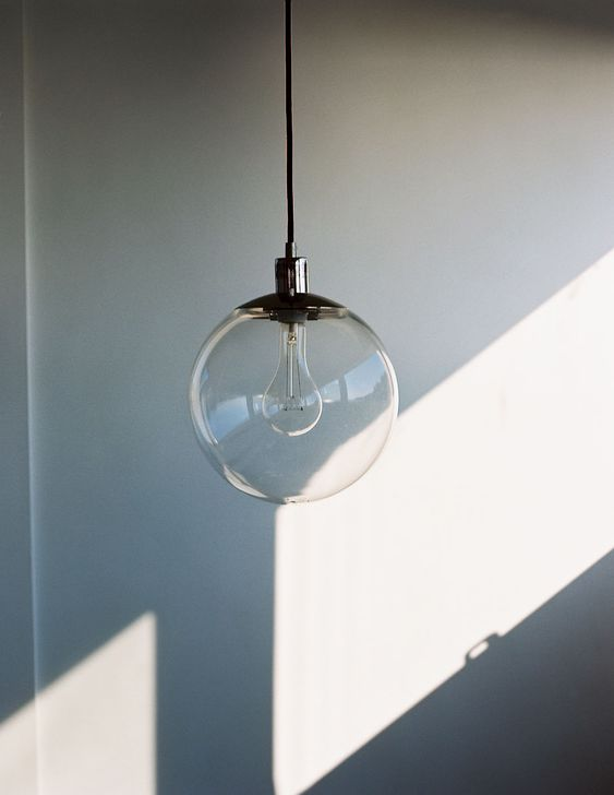 pendant bubble lamp. must have one.