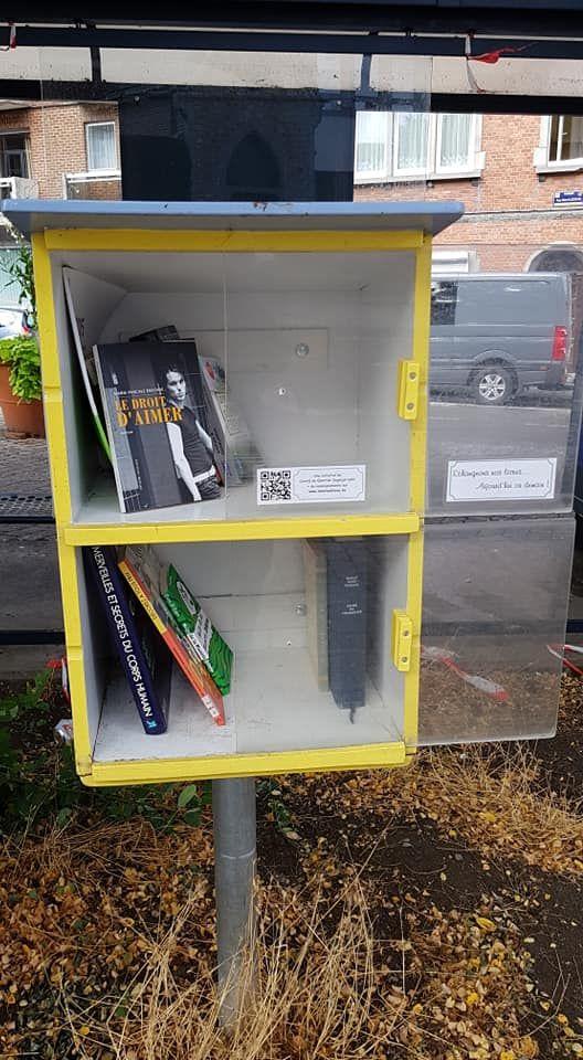 boîte à livres Salzinnes