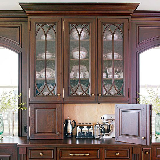 Glass Types For Kitchen Cabinets