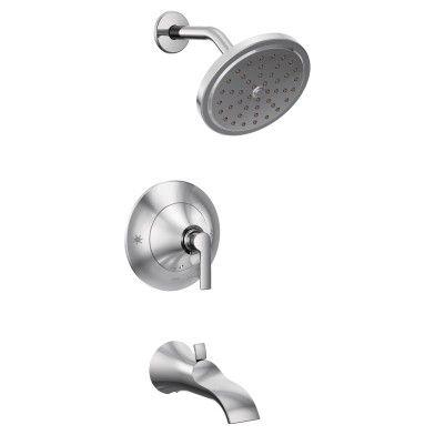 Doux Chrome Posi Temp Tub Shower Shower Faucet Shower Tub Tub And Shower Faucets