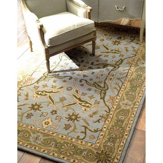 New Traditional Slate VT02 Area Rug Carpet Hand Tufted Wool Quality Durable #BidonRugs