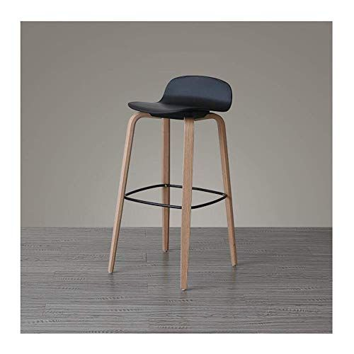 Qqxx Aglzwy Bar Stools Counter Height Stool Multifunction Home Wooden Dining Chairs 12 Colors 2 Sizes Bar Stools Counter Height Bar Stools Wooden Dining Chairs