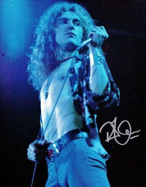 Robert Plant, autographed