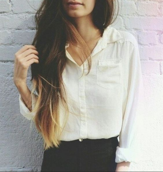 Lovely Ombre hair color! #blwhairextensions